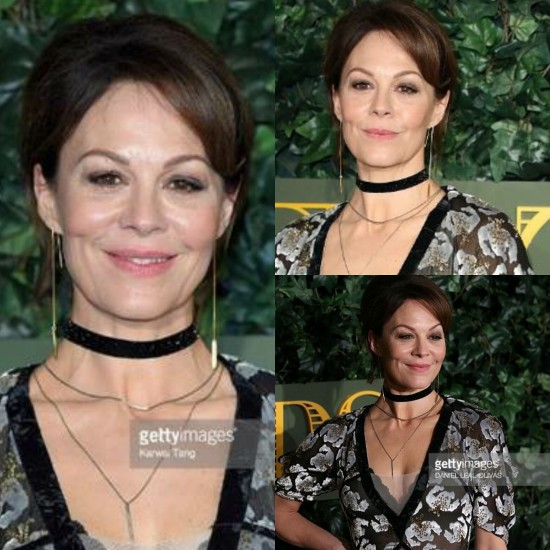 British actress Helen McCrory wearing PRISM earrings at The London Evening Standard Theatre Awards – November 2016