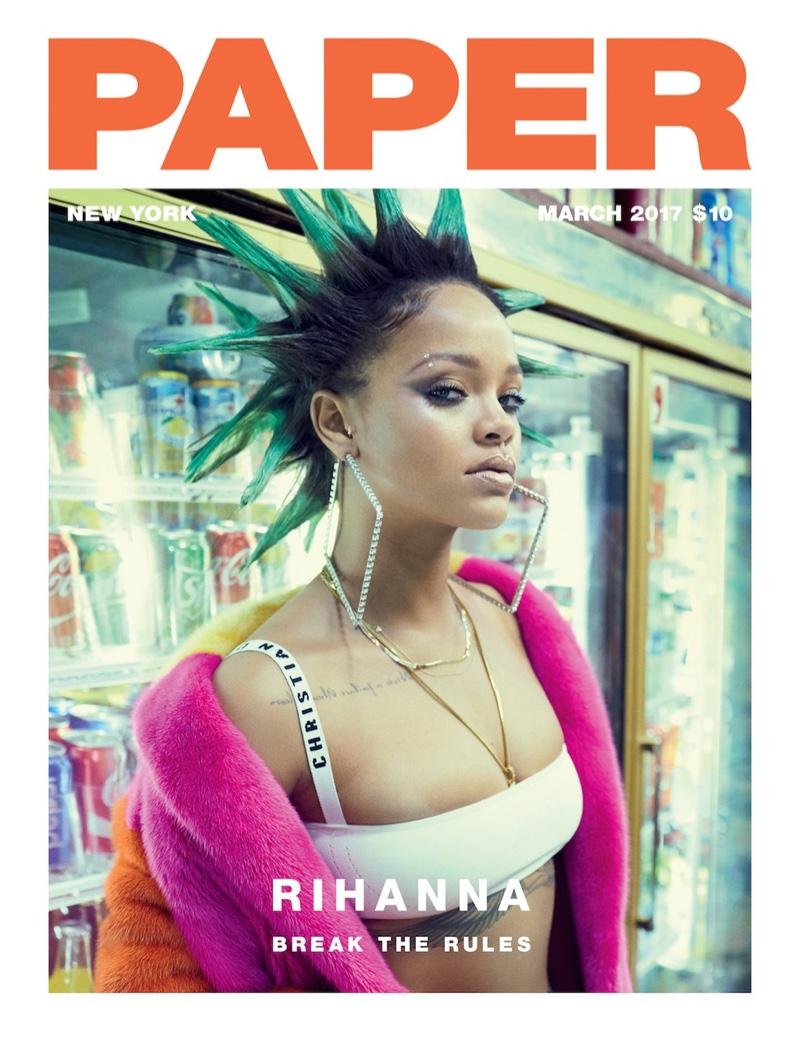 Cover - Paper Magazine - 17.03.17