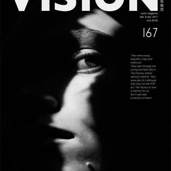 Vision China magazine featuring Explosion palm cuff and enigma earrings