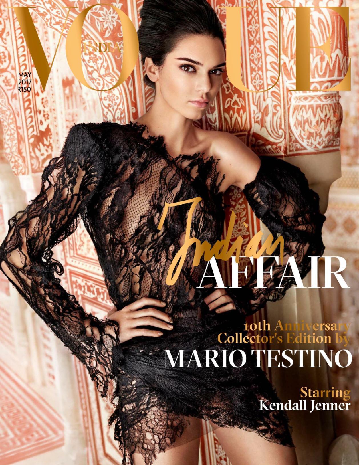 Cover - Vogue India - 09.05.17